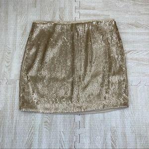 NWT J Crew Full Sequin Party Skirt